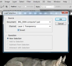 Step 13 - Click on the Invert check-box.