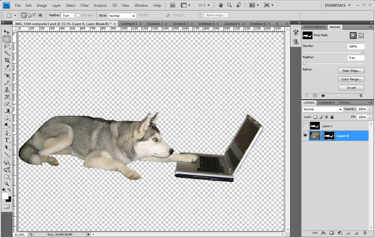 how to remove background on corel draw