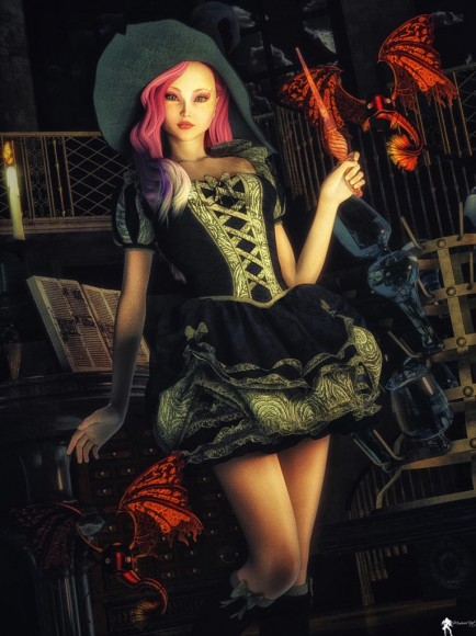 Qualifying item used: Storybook Outfit for Genesis 2 Female(s) (hat) Love Potion for Genesis 2 Female(s) by SARSA.