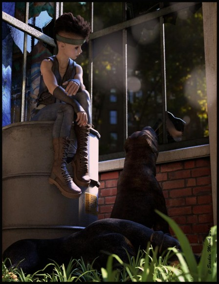 Qualifying items used –The Girl 7 by Daz Originals